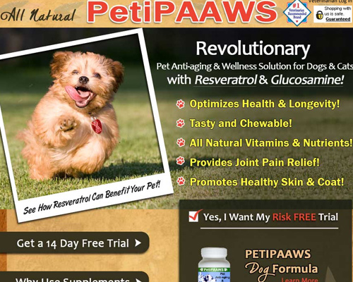 peipaws PetiPaaws Pet Wellness Formula