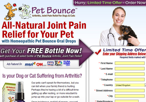 petbounce Pet Bounce Joint Relief