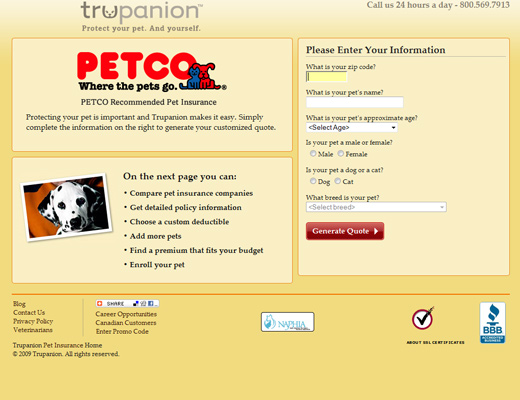 trupanion pett insurance website Trupanion Pet Insurance