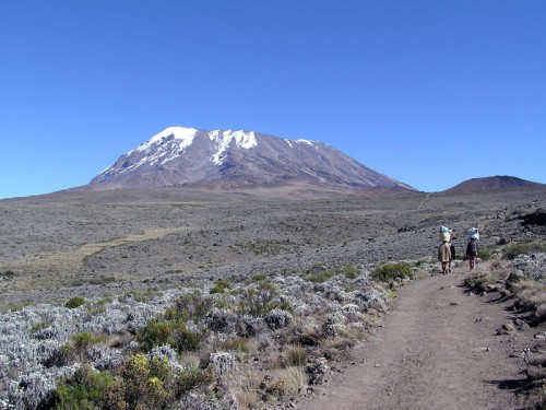 Kilimanjaro Climb e1301032523482 10 Top Mountain Treks in the World