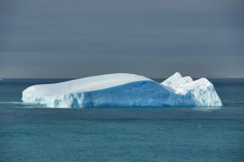 An iceberg located off the Antarctic Peninsula